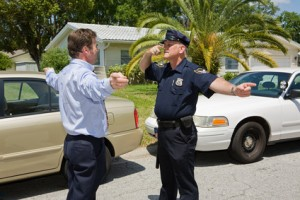 Disabled Field Sobriety Test